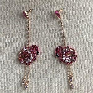 NWOTBetsy Johnson flamingo earrings!
